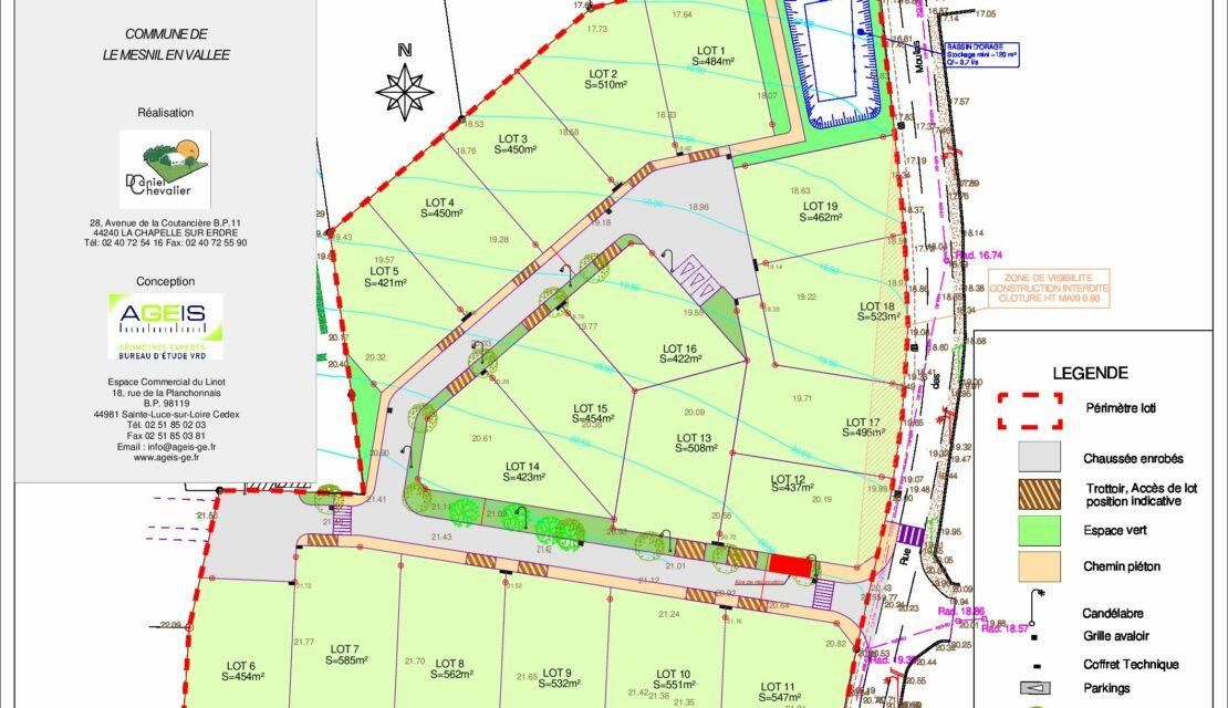 4 terrains encore disponibles au Clos du Moulin